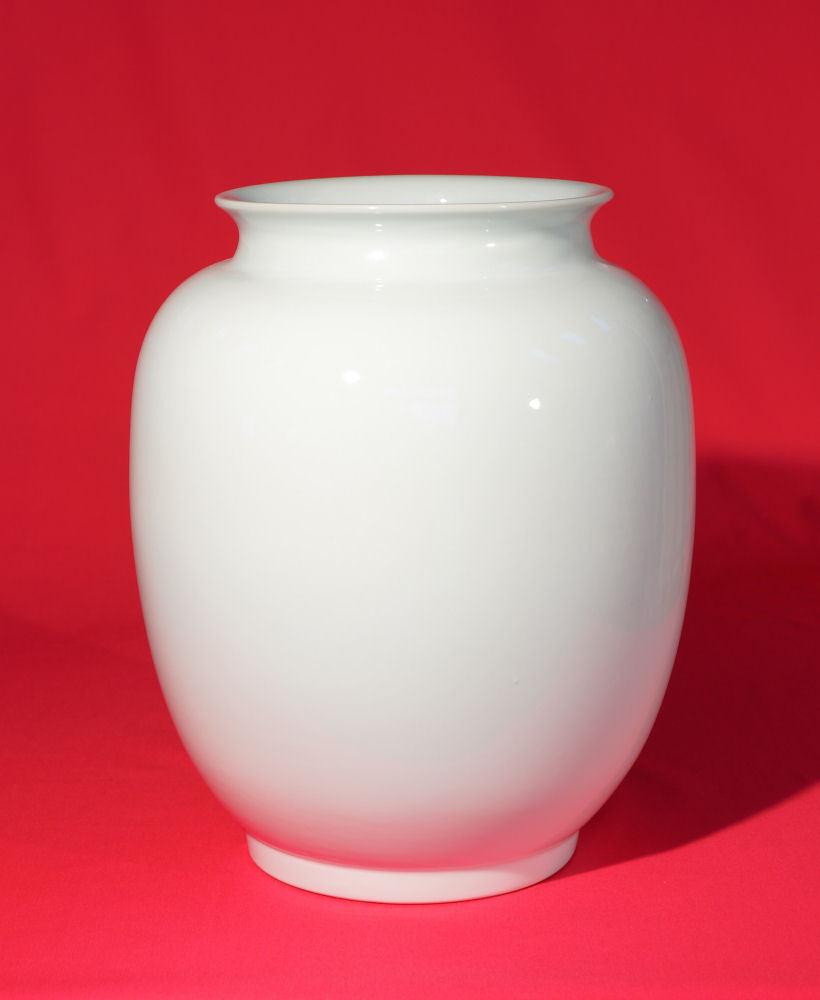 vase weiss cheap flower vase viola klein rose with vase weiss das bild wird geladen with vase. Black Bedroom Furniture Sets. Home Design Ideas