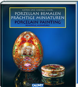BO 2 - Book  - Porcelain Painting - Beautiful Miniatures