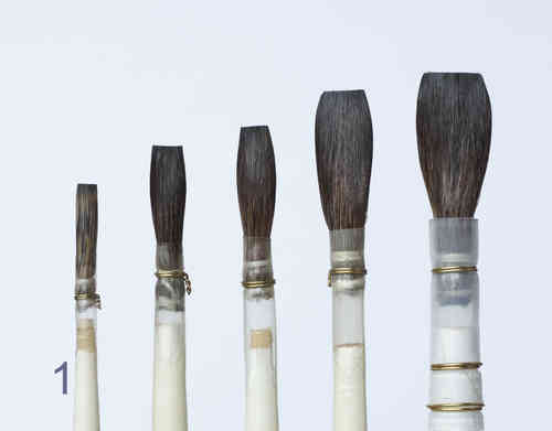 B11-1 Porcelain - China Painting Brush - long length