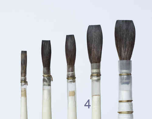 B11-4 Porcelain - China Painting Brush, long length
