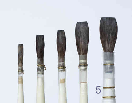 B11-5 Porcelain - China Painting Brush, long length