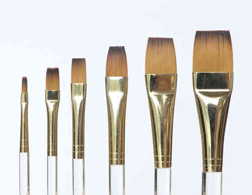 B10 Porcelain - China Painting Brush Set -  square shader