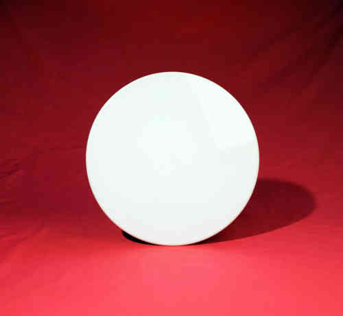 PT301   Porcelain tile   white china - round  26 cm