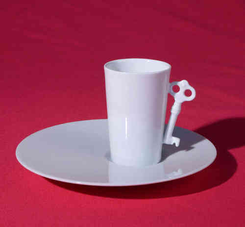 PC309 Espresso coffee cup Porcelain with saucer