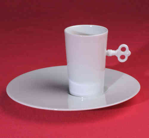 PC310 Espresso coffee cup Porcelain with saucer