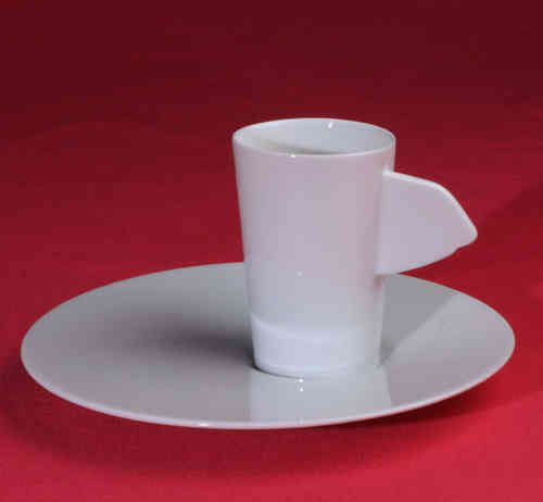 PC315 Espresso coffee cup Porcelain with saucer