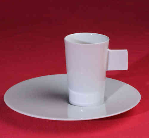 PC316 Espresso coffee cup Porcelain with saucer