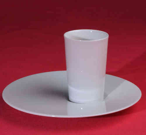 PC318 Espresso coffee cup Porcelain with saucer