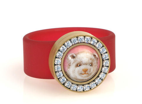 Ring Teddy bear