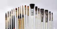 Brushes for Porcelain painting